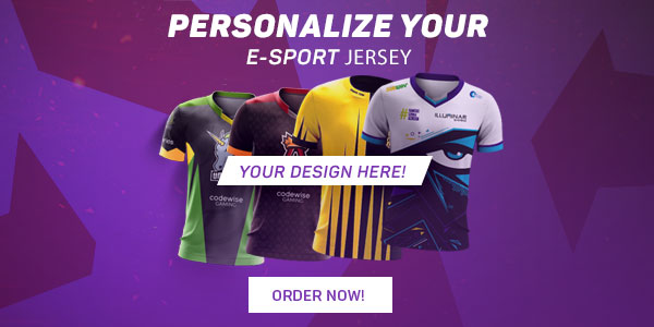 Custom E-Sport Jersey & Apparel for your Team