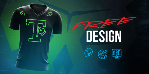 Gamer Clinic- Free E-Sport Jerseys Designs