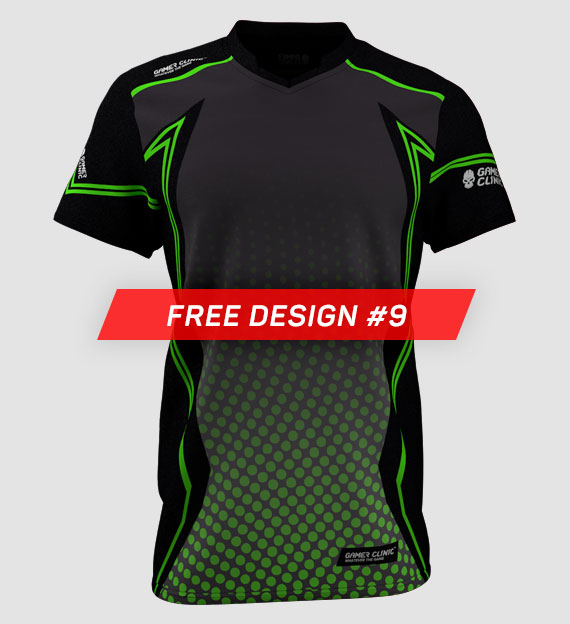 Free Custom designs from Jersey Clinic