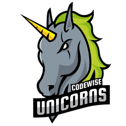 Custom E-Sport Jersey for Codewise Unicorns team made by Gamer Clinic